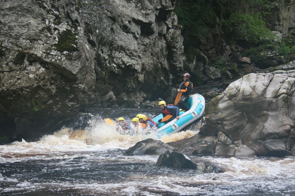 White Water Rafting, Scotland
