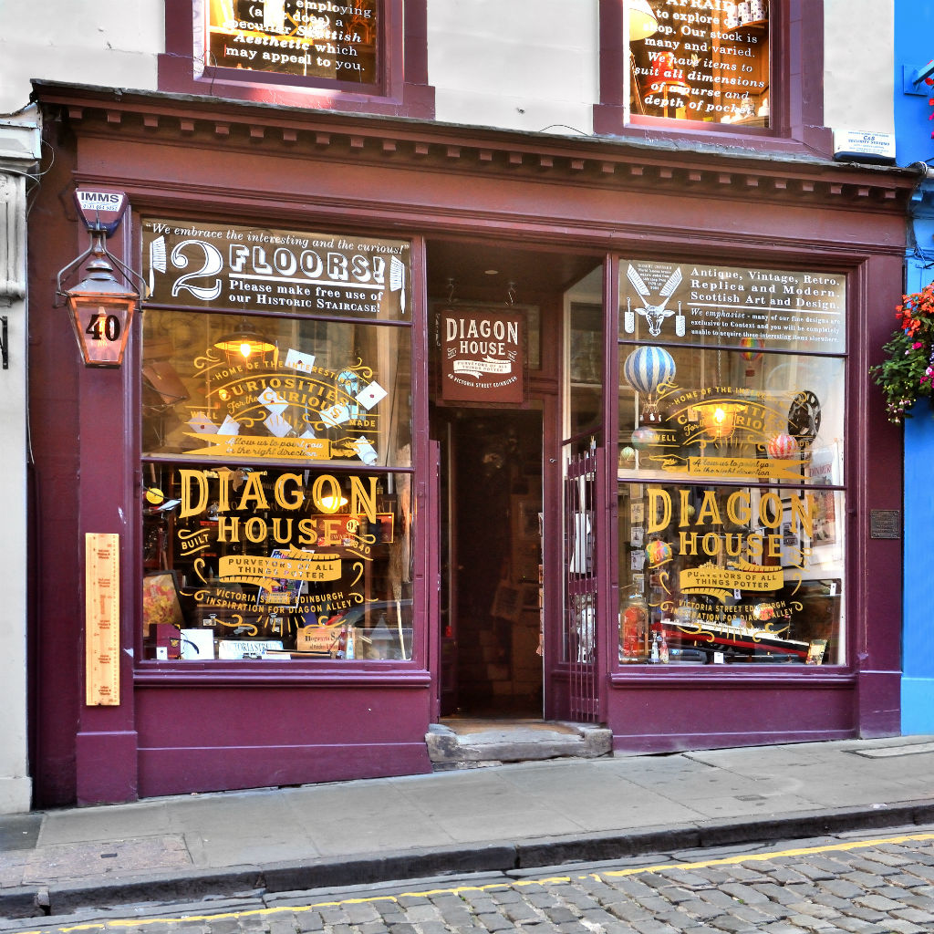 973423ad85c New Harry Potter Shop Opens On Edinburgh s Own Diagon Alley