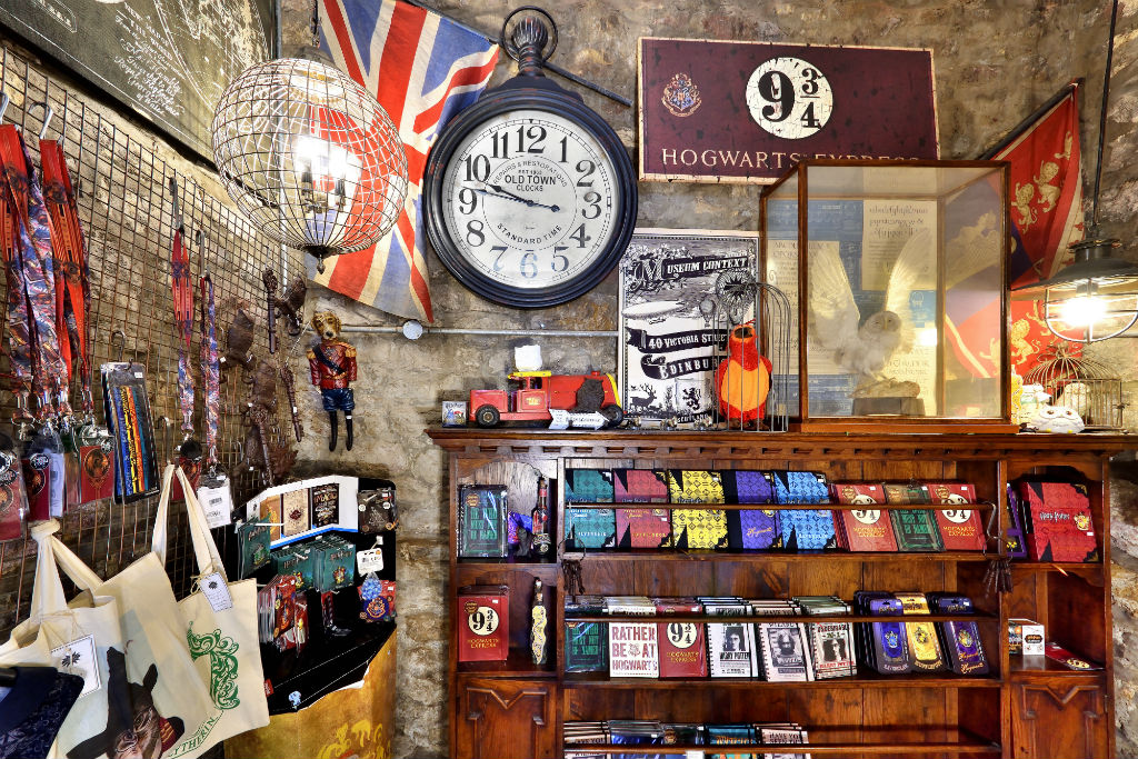 48f6c3da1 New Harry Potter Shop Opens On Edinburgh's Own Diagon Alley