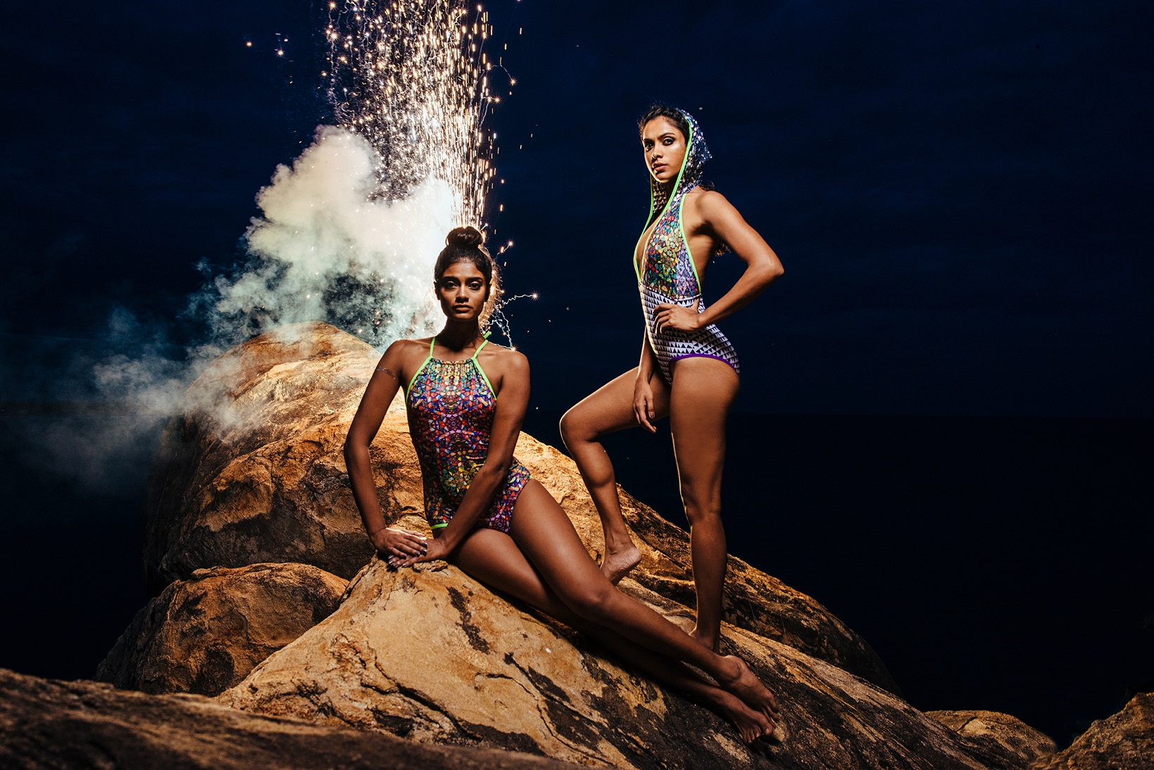 Models Archana Akil Kumar & Mariette Valsan for Rumpunch © Courtesy of You're My Favourite