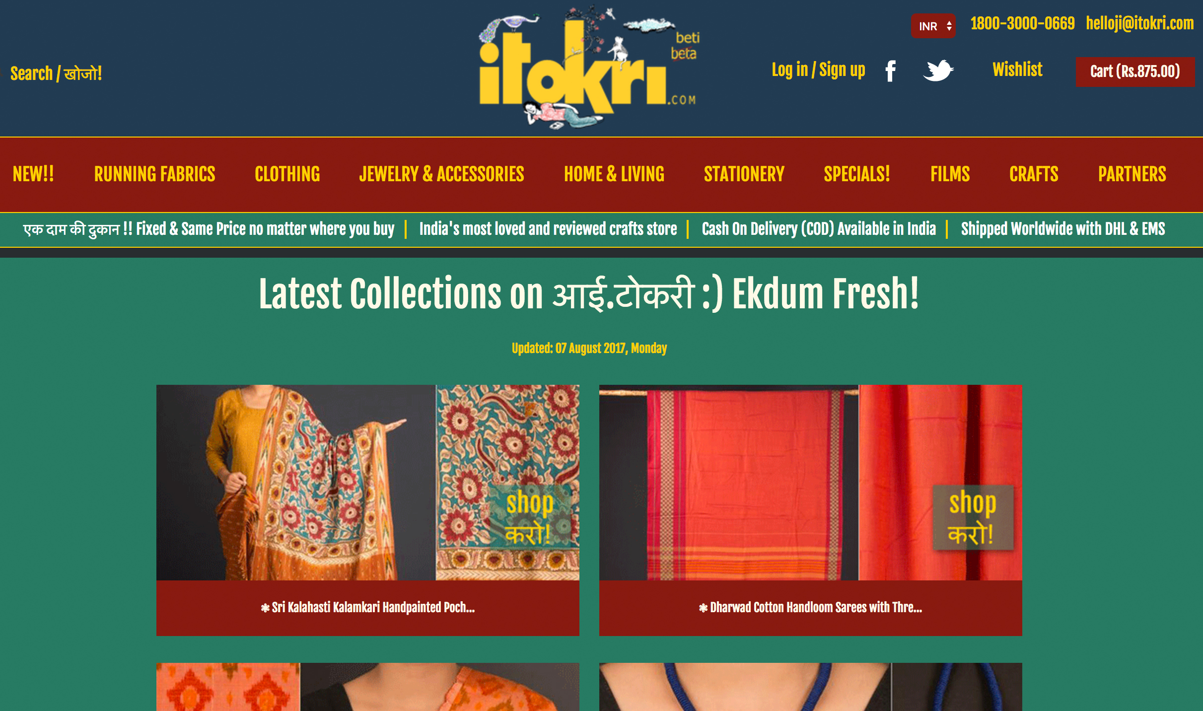 10 Online Handicraft Stores From India To Satiate Your Retail Urges