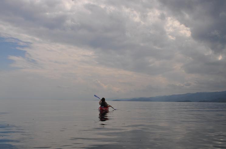 Kayaking Lake Kivu
