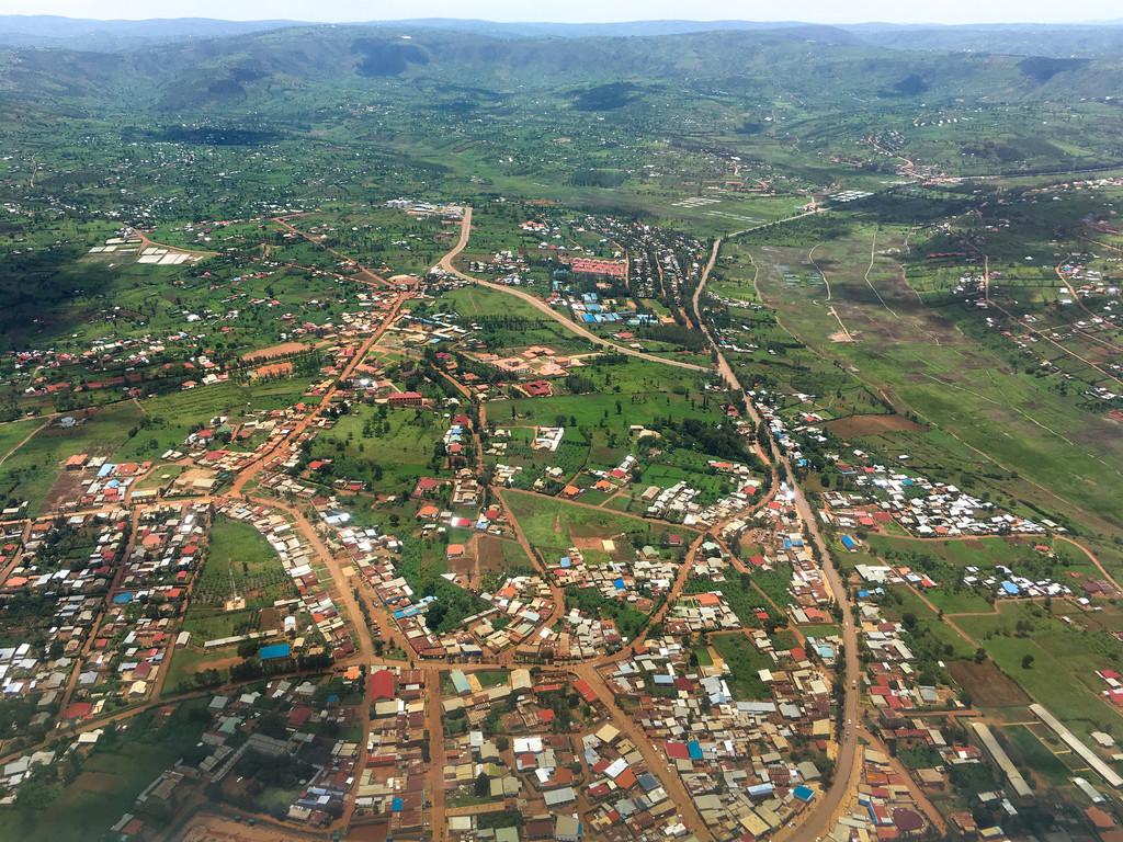Rwanda from above