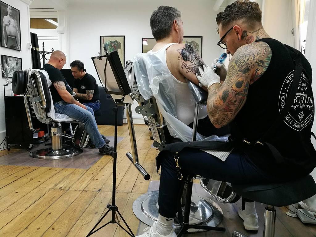 Art Of Ink Århus denmark's most notable tattoo studios