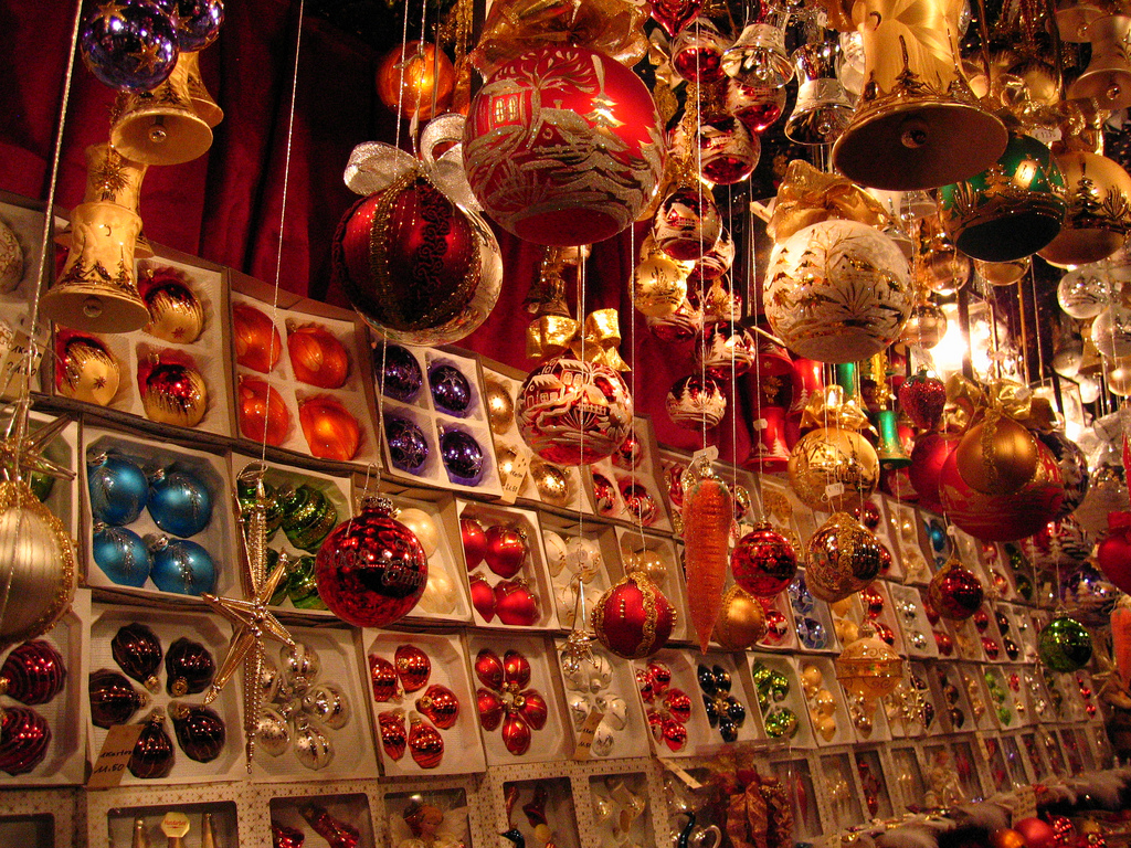 the best authentic souvenirs to buy from germanys christmas markets - German Handmade Wooden Christmas Decorations