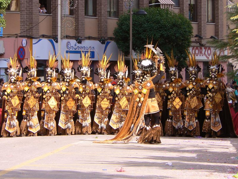 Moros y Cristianos Festival, Villena, Spain | ©Juan Estevan Sáez / Wikimedia commons