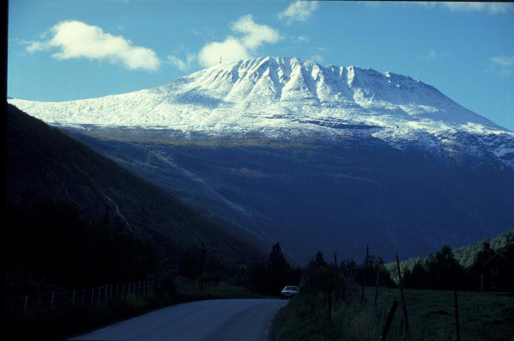 Gaustatoppen mountain | © NVE : Flickr