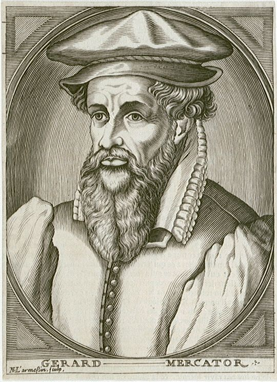 Gerard Mercator, Belgian inventor of a world map system that still serves mankind today | public domain / Wikimedia Commons