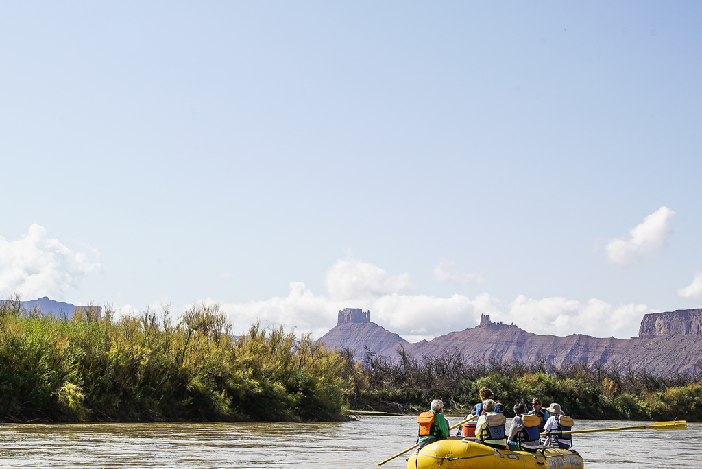 Rafting down the Colorado River in Moab, Utah | © Mark Choi/Culture Trip