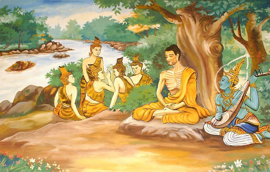 Ascetic Bodhisatta | © myself/WikiCommons