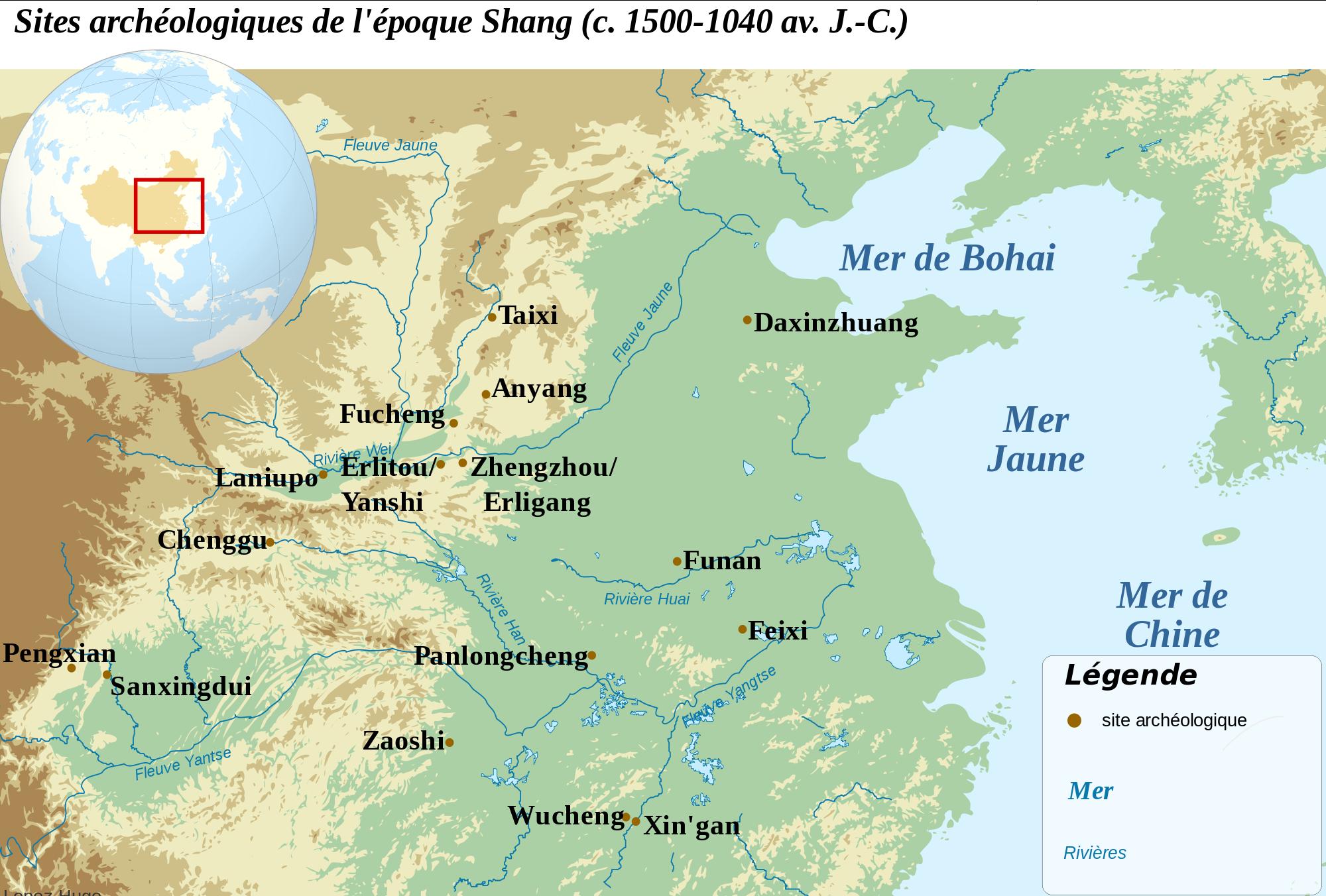 A Brief History of China: Shang Dynasty