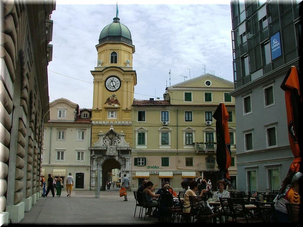 Rijeka City Clock Tower | © aaaaaaa107/Flickr