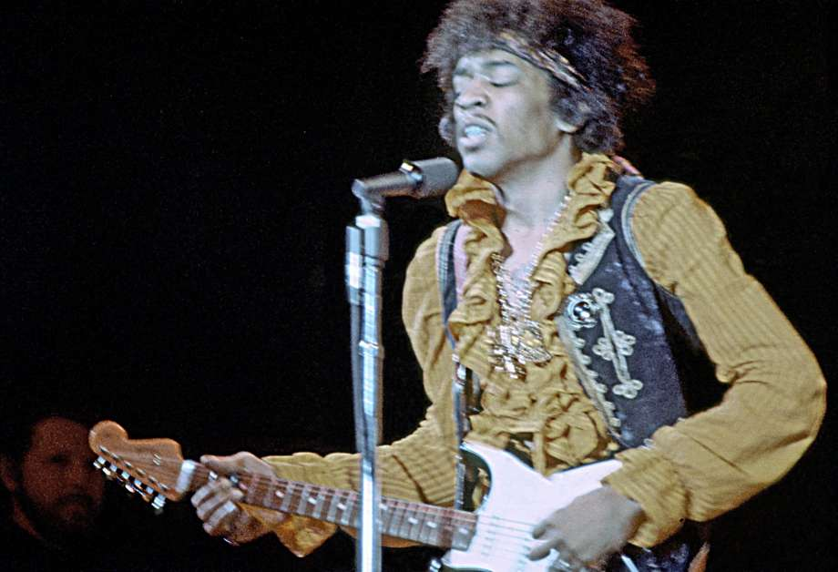 Jimi Hendrix performs at Monterey | © The Criterion Collection