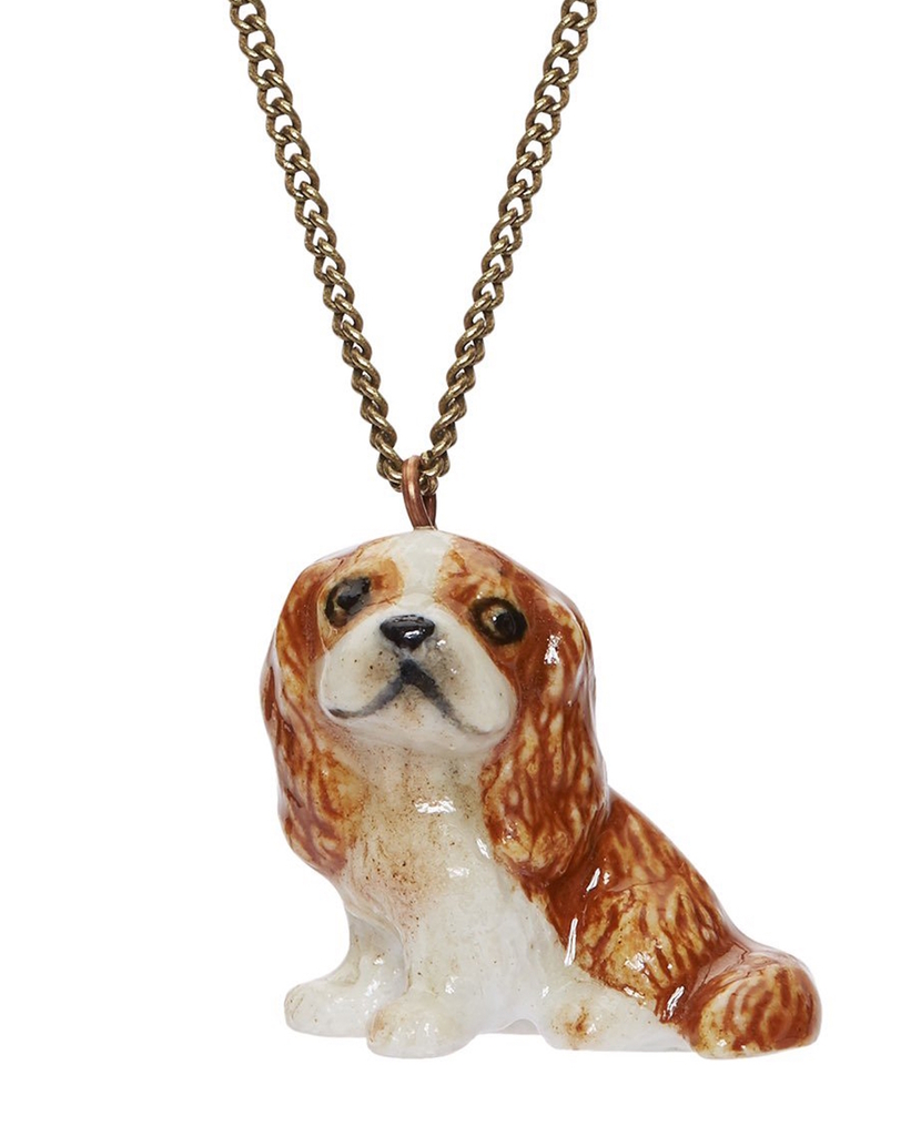 brown-king-charles-spaniel-necklace