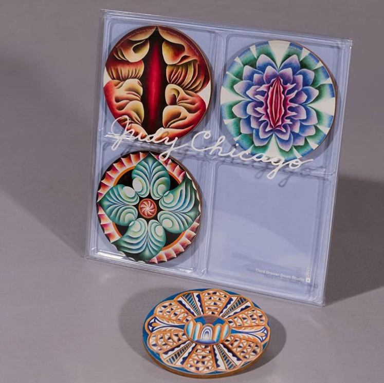 Judy Chicago Coasters