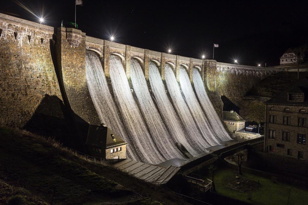Diemelsee dam, Germany