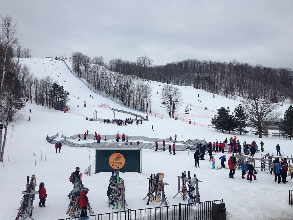 the best places to ski near toronto