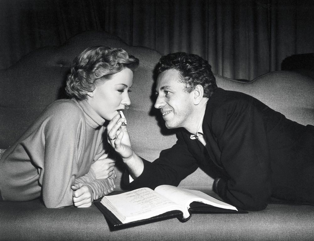 Gloria Grahame Anthony Ray And