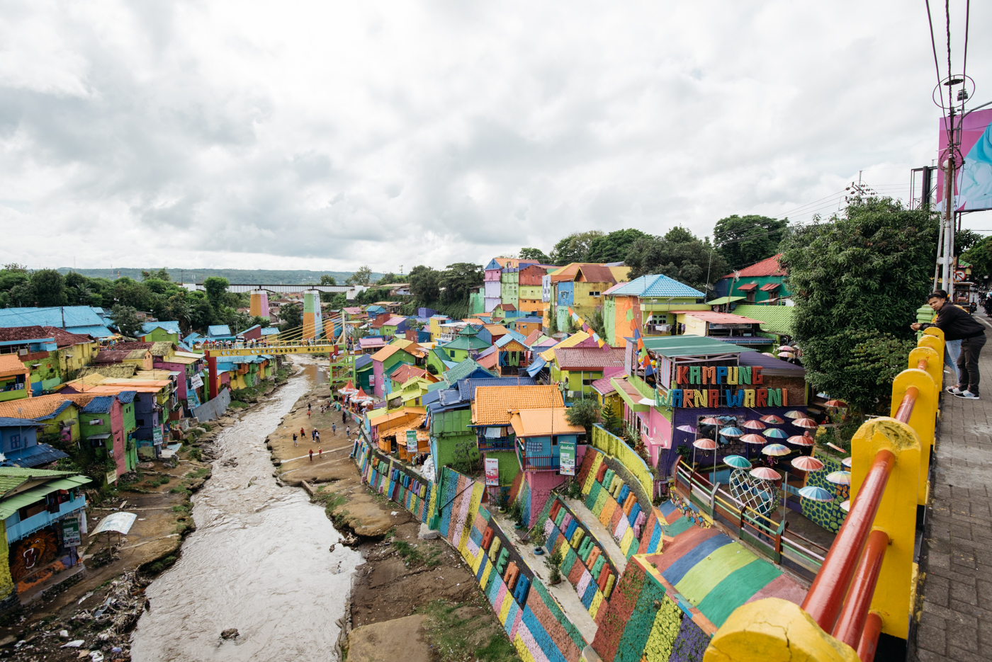 Jodipan indonesias amazing rainbow village