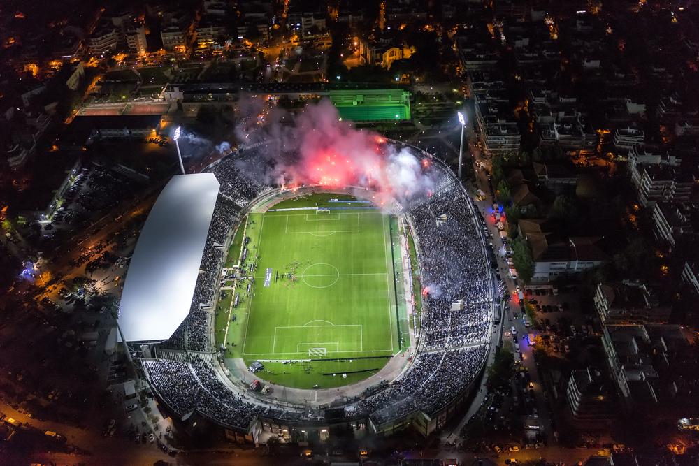 Aerial view of football fans in Greece   ©Ververidis Vasilis/Shutterstock