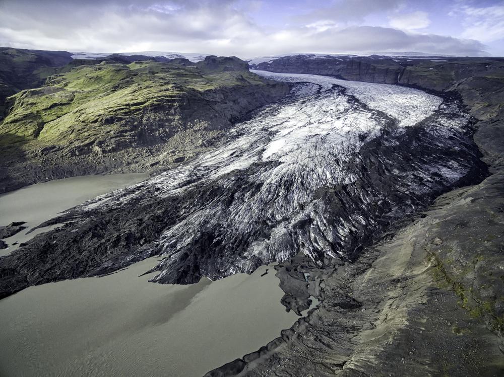 Solheimajokull Outlet Glacier, Iceland   © Johann Helgason/Shutterstock