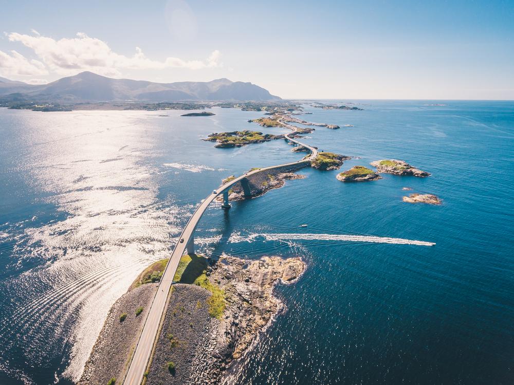 Atlantic Road, Norway   © Dmitry Tkachenko Photo/Shutterstock