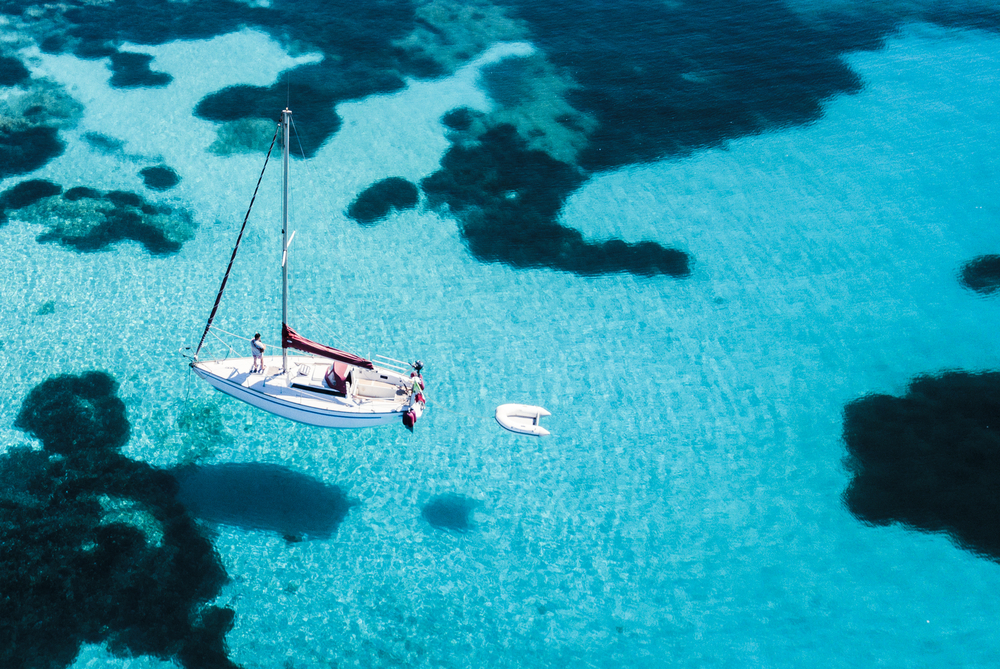 Crystal clear waters in Sardinia, Italy   ©Travel Wild/Shutterstock