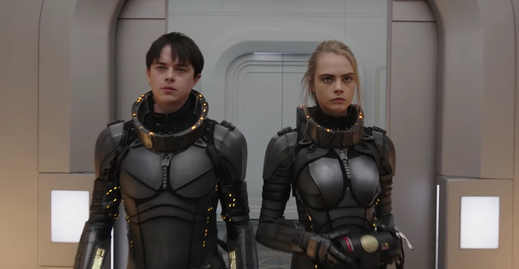 Dane DeHaan and Cara Delevingne in 'Valerian and the City of a Thousand Planets'   © EuropaCorp Distribution
