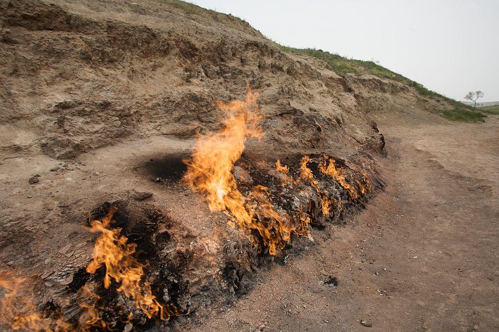 Image result for eternal flame in azerbaijan