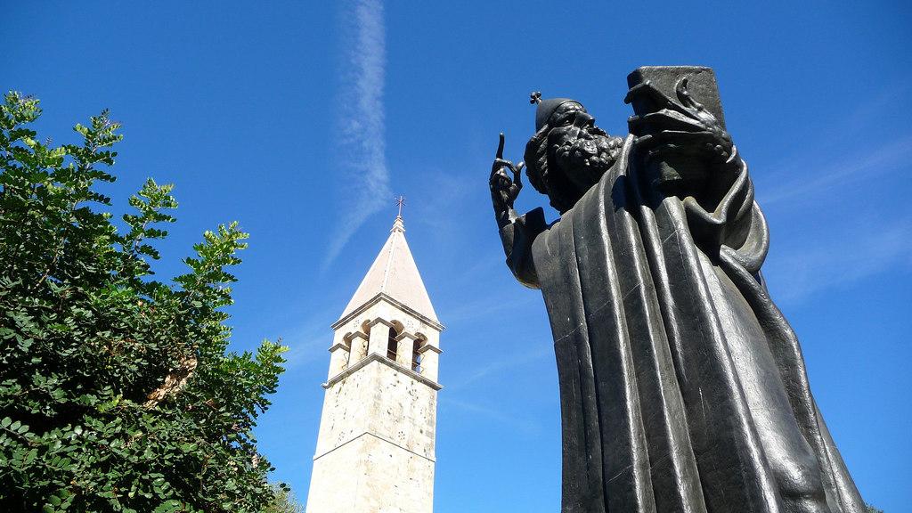 Split, Statue of Grgur Nin