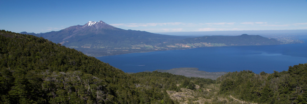 Volcan Calbuco, Lago Llanquihue