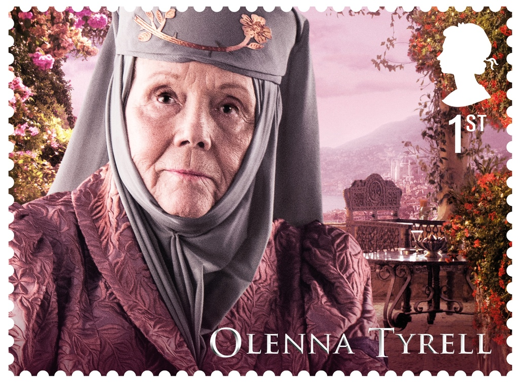 GoT Olenna Tyrell stamp