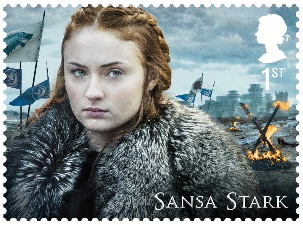 GoT Sansa Stark stamp