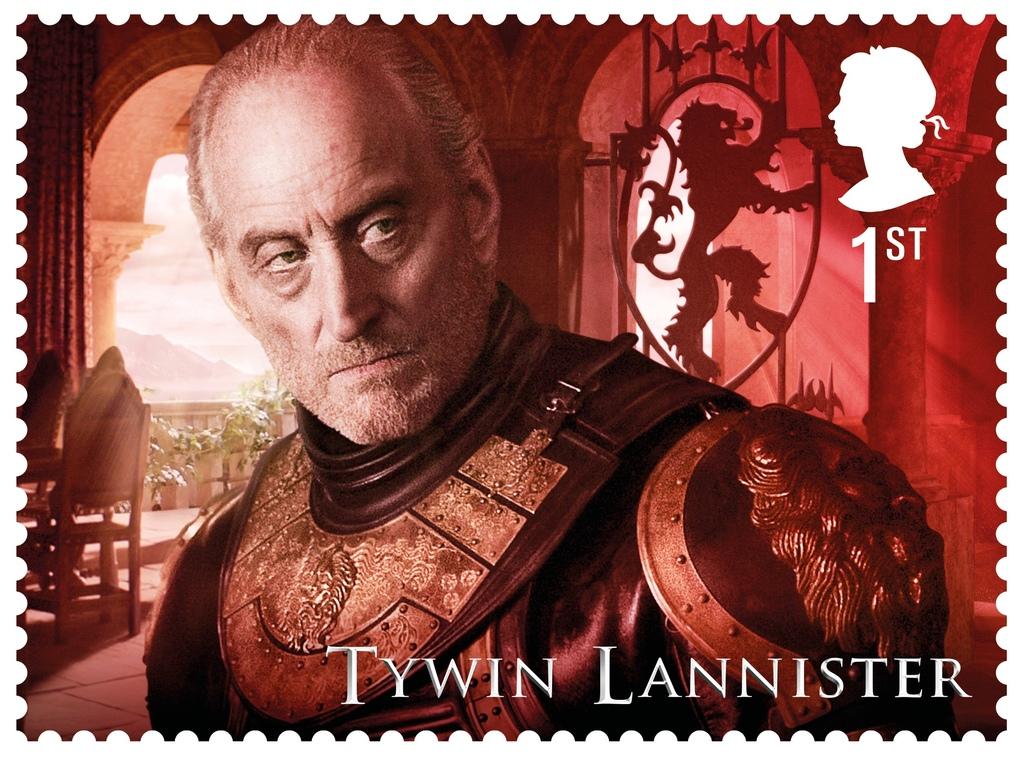 GoT Tywin Lannister stamp