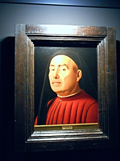 Antonello da Messina, 'Portrait of a Man' (1476) on view at Palazzo Madama | Photo © Carlo Raso/Flickr