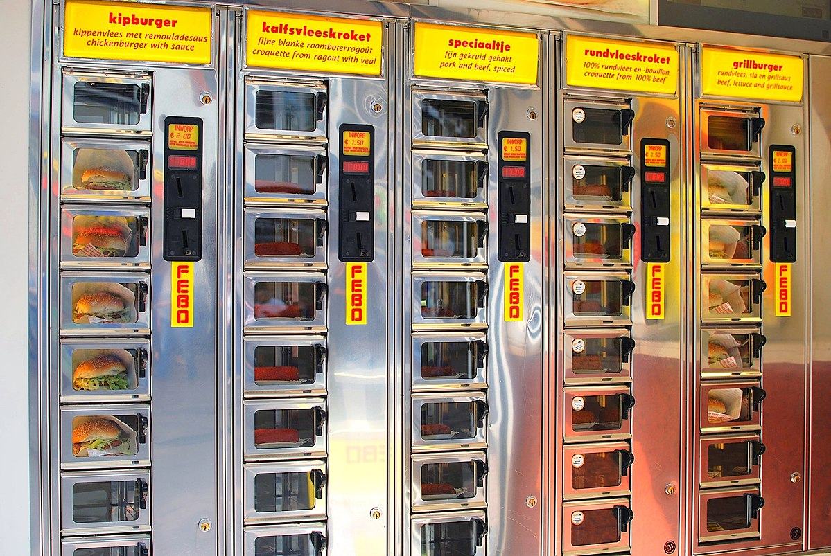 You Can Buy Burgers From Vending Machines In The Netherlands