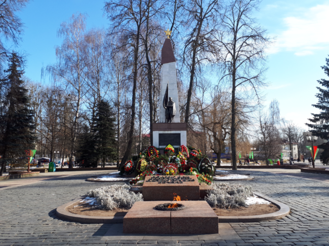 Belarus Grodno Jonny Blair War memorial dont stop living