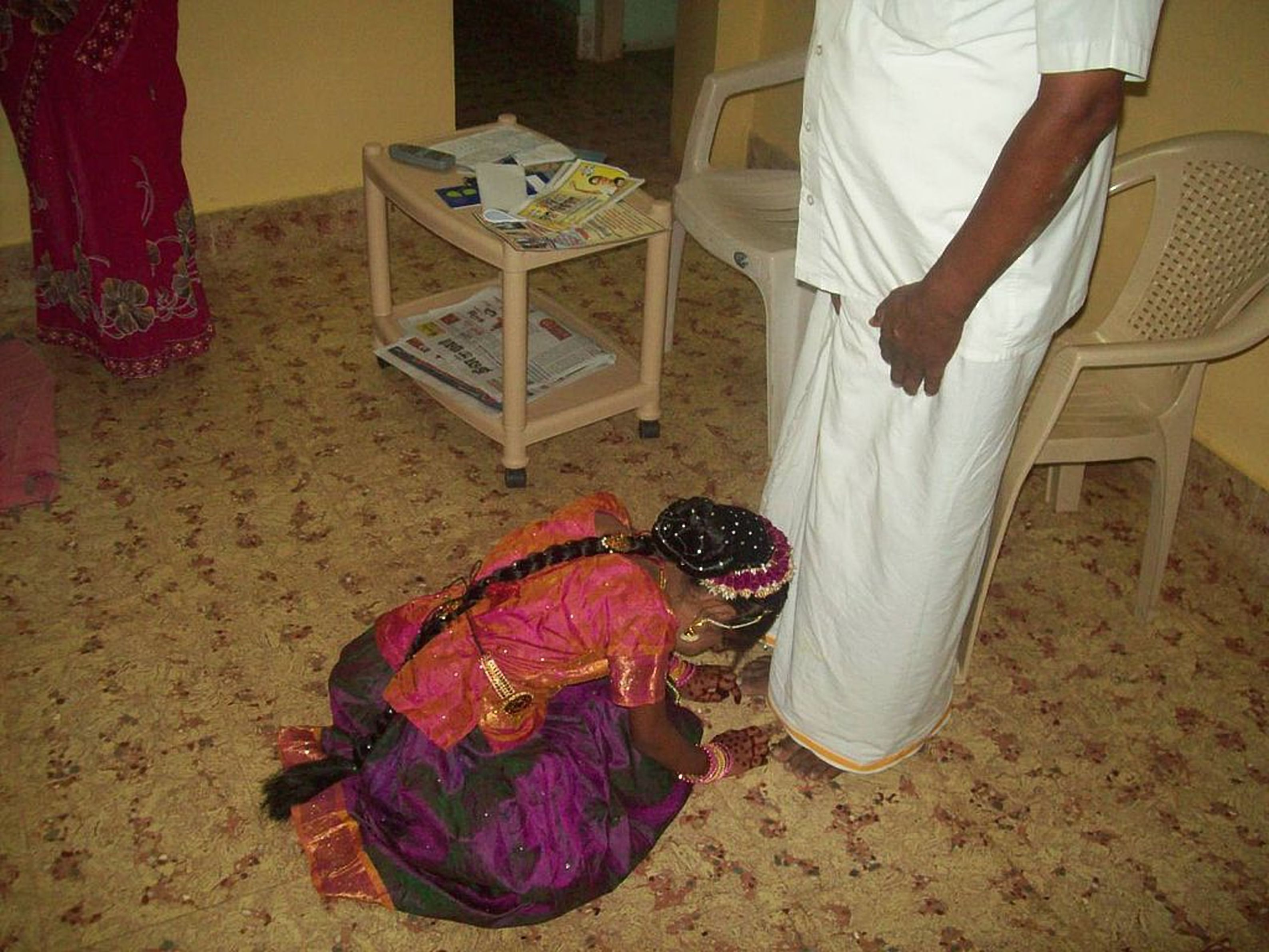 Why Do Indians Touch the Feet of Their Elders?