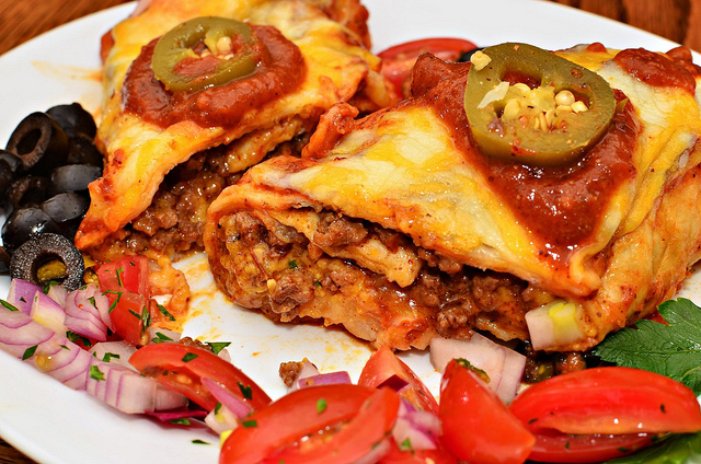Mexican Enchiladas Jeffreyw Flickr