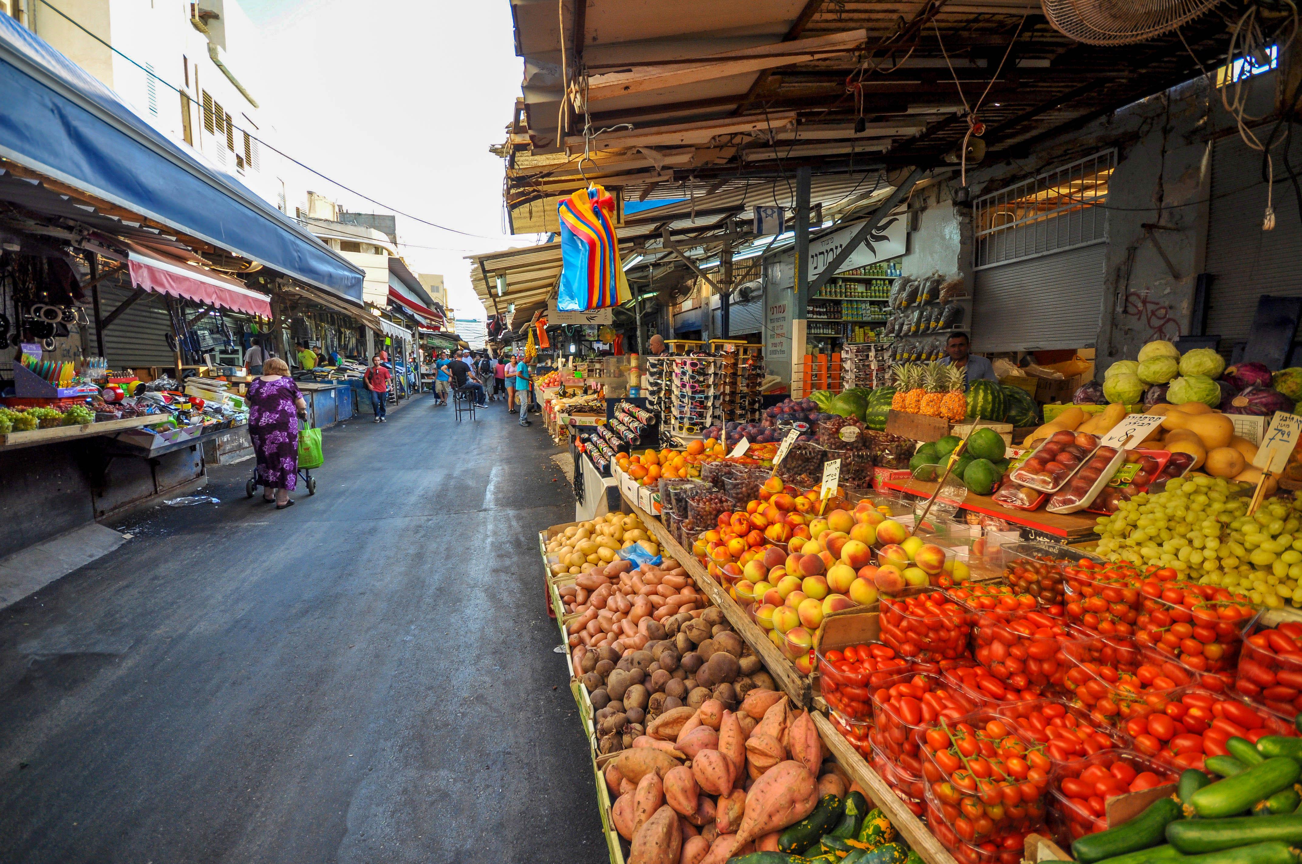 top second hand markets in tel aviv