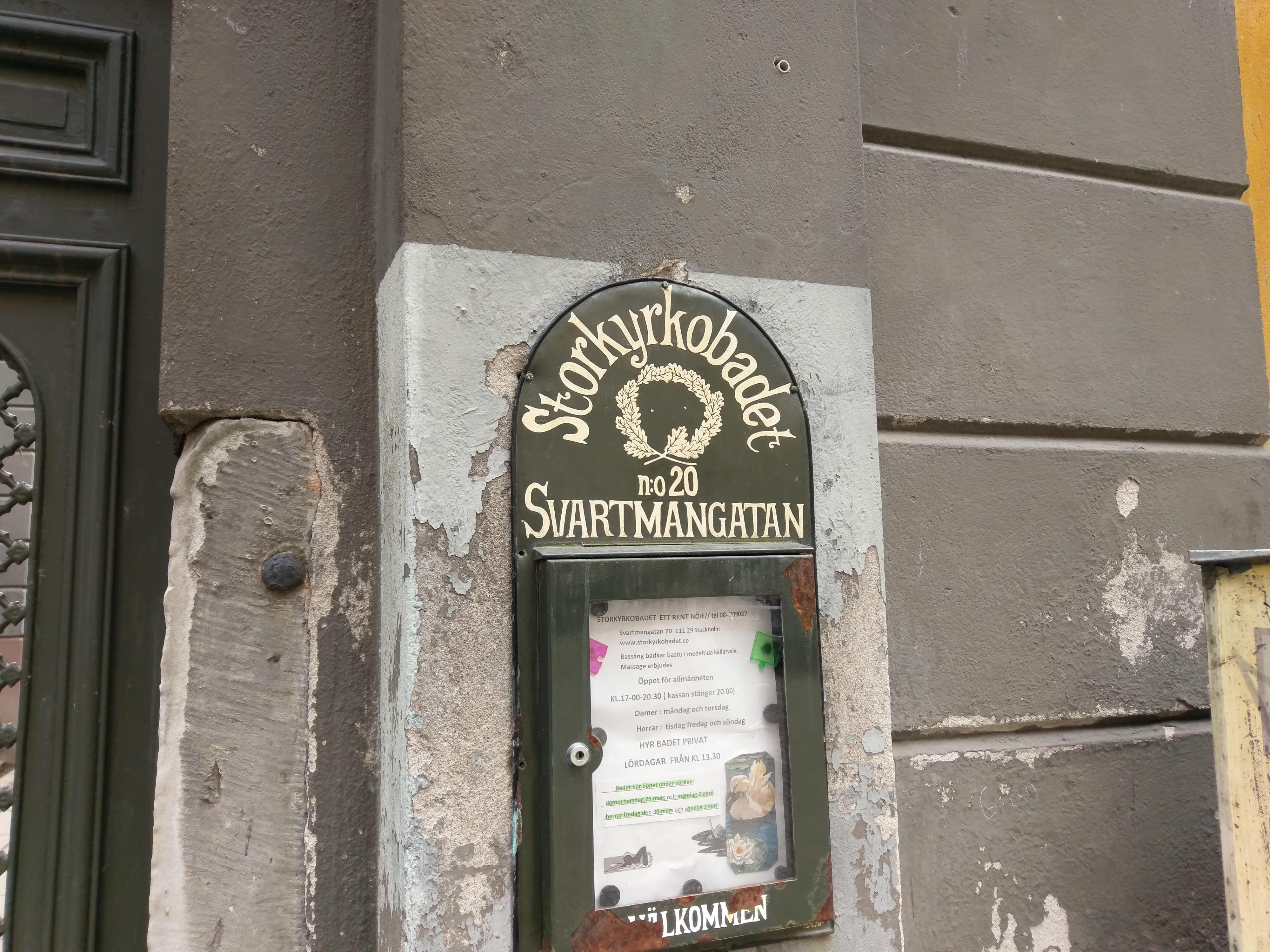 Stor stockholm torsdag