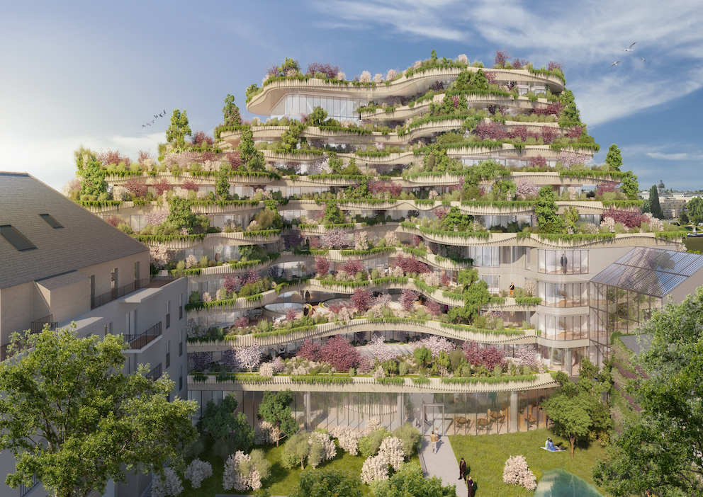 French Architect Designs Vertical Forest Apartments to Escape City Life