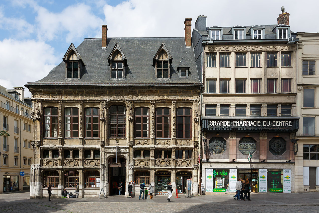 The most beautiful buildings in rouen france