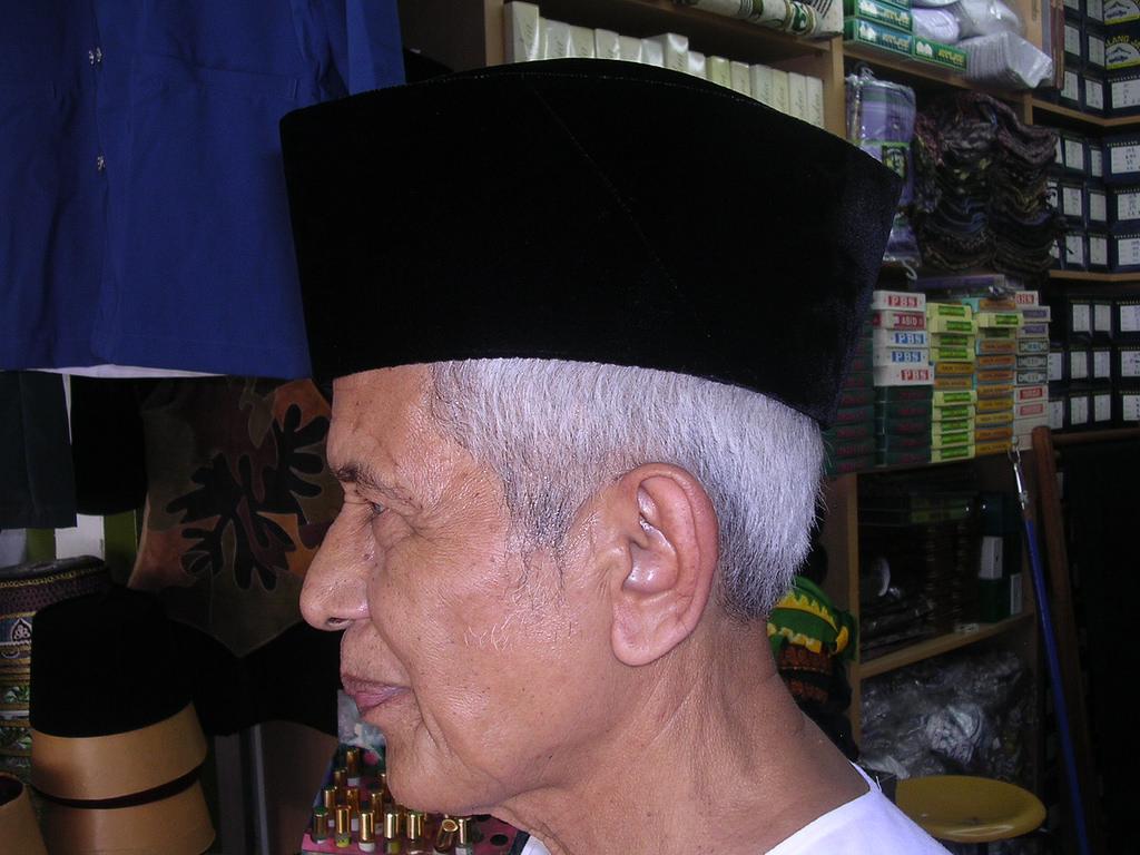The History of Malaysia's Songkok Cap