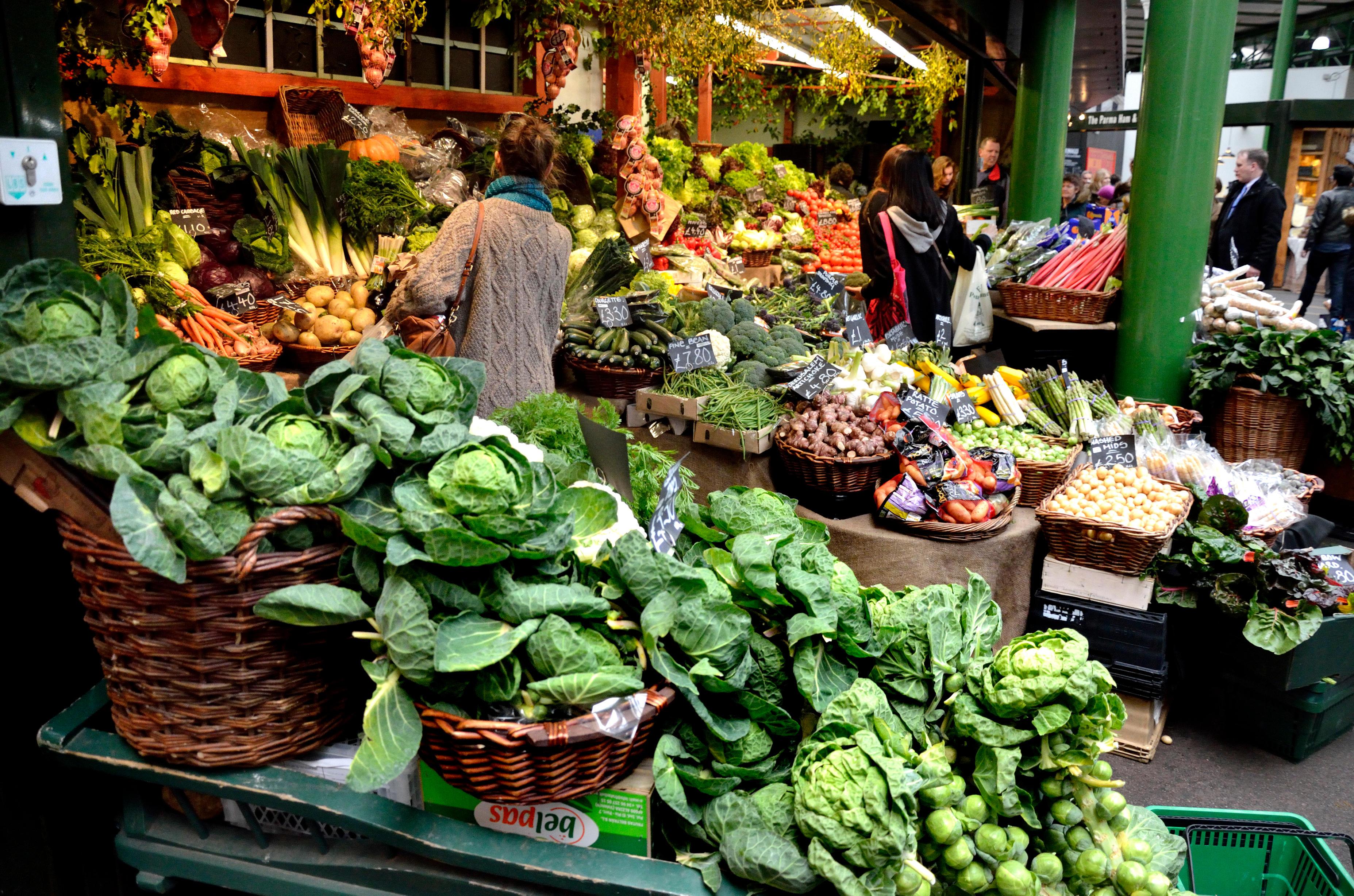 Image result for hackney vegan village market