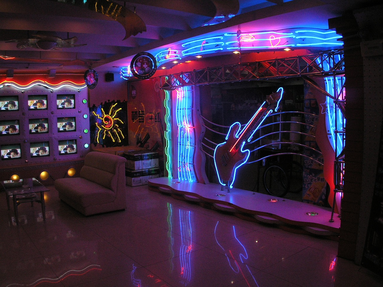 A Guide To Doing Karaoke In China File Outdoor Wiring Jpg Wikimedia Commons
