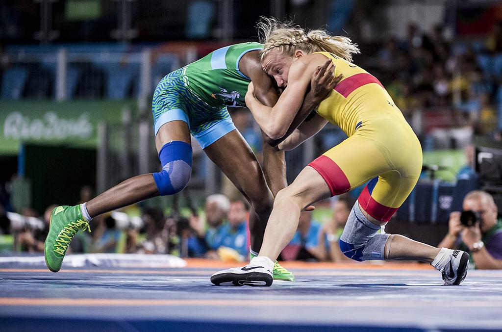 Sofia Mattsson, Sweden, Odunayo Adekuoroye