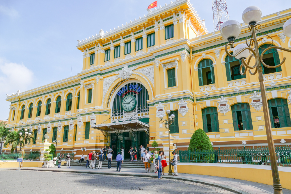 The History of Saigon Central Post Office