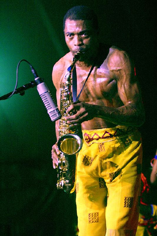 Fela Kuti and The New Afrika Shrine
