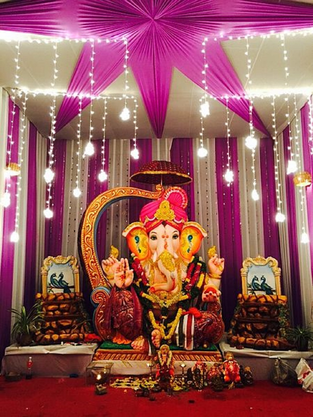 In Pictures India S Spectacular Ganesh Chaturthi Festival